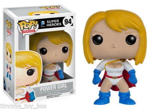 Funko Pop! Super Heroes DC Universe Vinyl Figure - Power Girl #94 #FunkoDCcomoicsfunkopopheroes