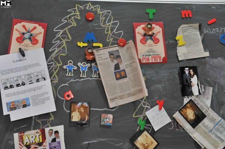 Bacheca dell'Istituto Barlumen - factory multimediale di Cappa scopri di più qui: http://www.metamorgan.it/blog/intervista-a-gaetano-cappa/#