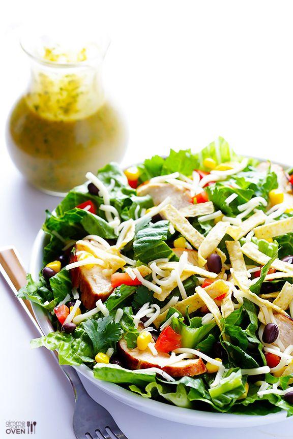 Santa Fe Salad Salad (Cheesecake Factory Copycat) | gimmesomeoven.com