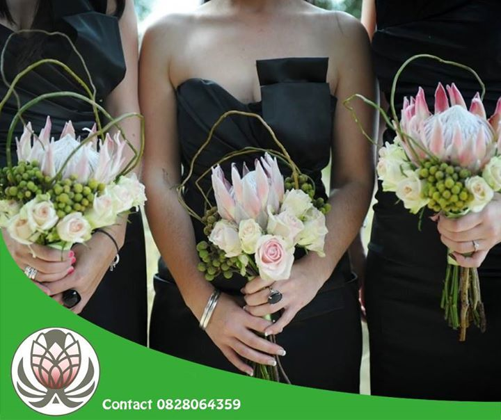 We can do flower arrangements for your #wedding, bride's maids bouquets and #bride bouquets. Contact Bofberg Flowers if you are interested in our products and services.