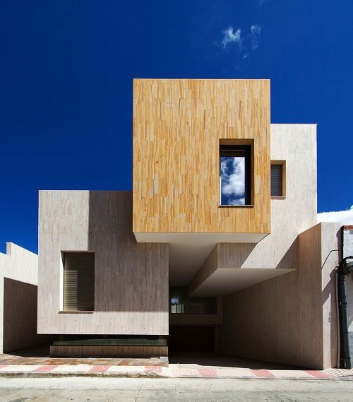 House R+ / OOIIO Arquitectura. © Eugenio H. Vegue - Francisco Sepúlveda Via: @archdaily #Toledo, #Spain.