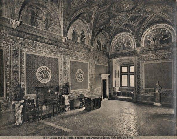 Pinturicchio, '' Appartamento Borgia'' - Sala del Credo. Roberta D' Aprile