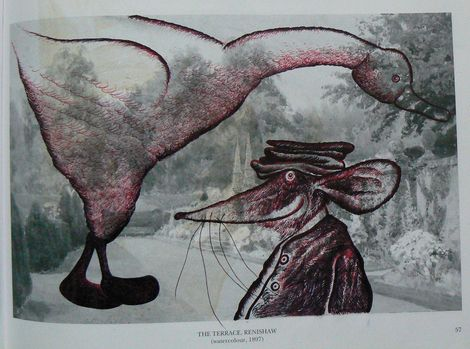 Ronald Rae, The Goose and the Mouse fairytale on ArtStack #ronald-rae #art
