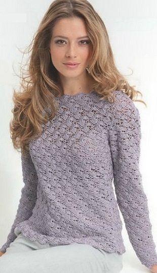 Crochet Pullover - Schema