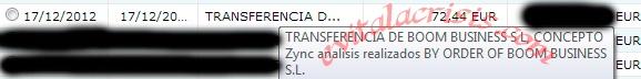 Recibido el primer pago de la empresa de Twync