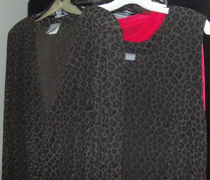 RABBIT RABBIT DESIGNS Cheetah Print 2pc. Dress & Jacket Sz. 20W #RabbitDesigns #WeartoWork