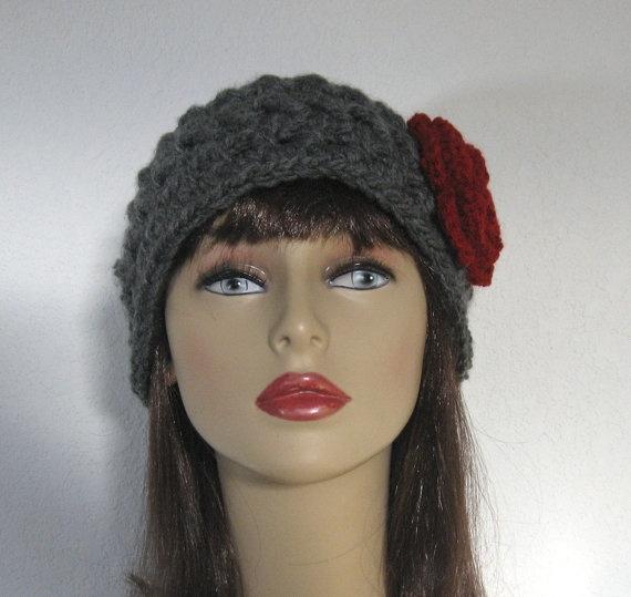 Crocheted Headband Head wrap  Head Band  by CreativeDesignsbyAmi, $16.00