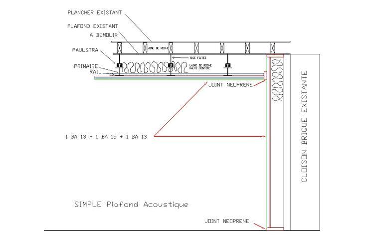 Best 25 placo phonique ideas on pinterest faux plafond acoustique rev tem - Placo phonique renomince ...