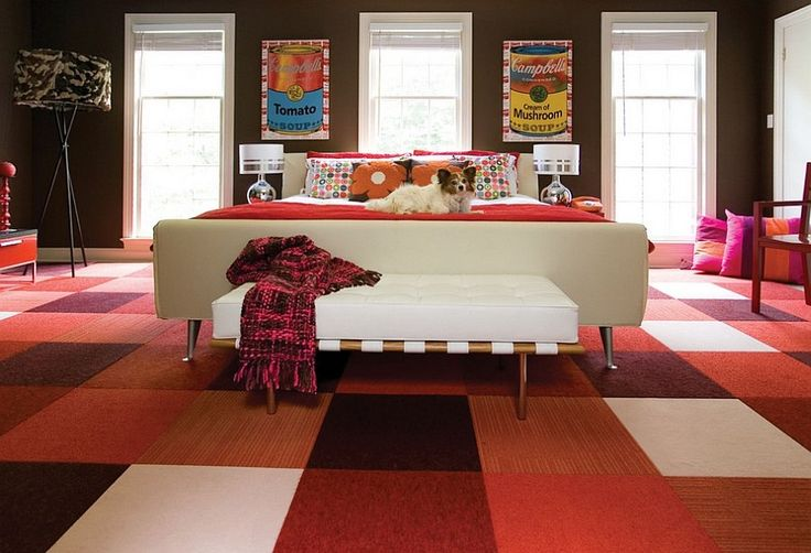 Add Midcentury decor to spice up your contemporary bedroom [Design: Supon Phornirunlit / Naked Decor]