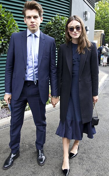Keira Knightley Cultler and Gross sunglasses Ladies Wimbledon Championships, London July 5, 2014
