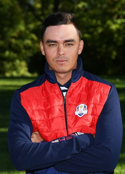 Rickie Fowler Photos Photos - Rickie Fowler of the United States poses during team photocalls prior to the 2016 Ryder Cup at Hazeltine National Golf Club on September 27, 2016 in Chaska, Minnesota. - 2016 Ryder Cup - Team Photocalls
