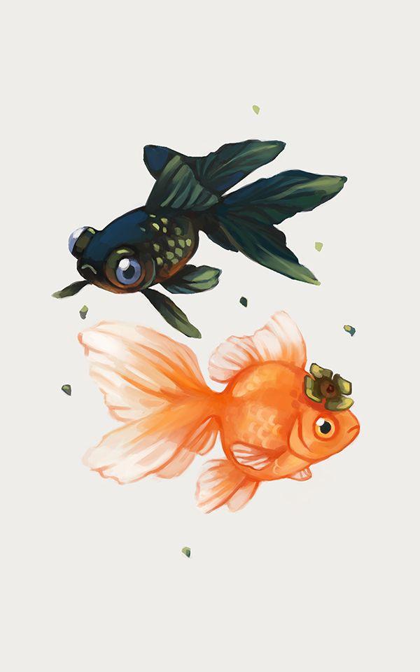 Tea Spirit - Persimmon, an art print by Heather Penn