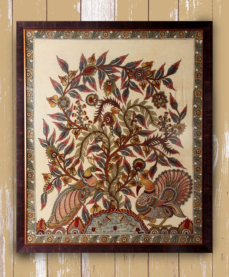 Prosperity - Original Kalamkari on Fabric