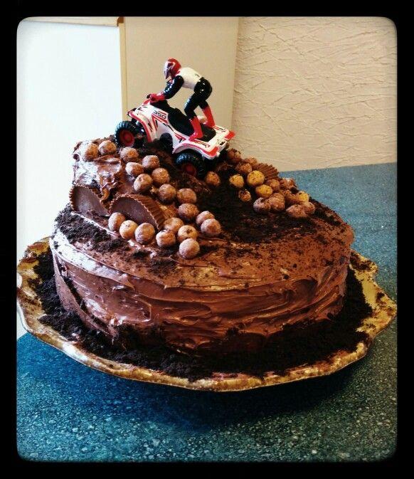 Quad birthday cake...success!