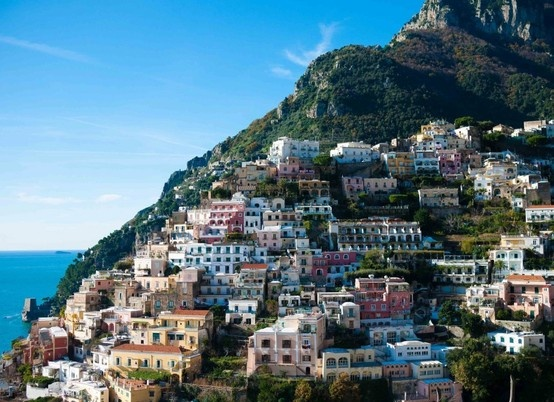 Last stop, first stop, only stop: Amalfi