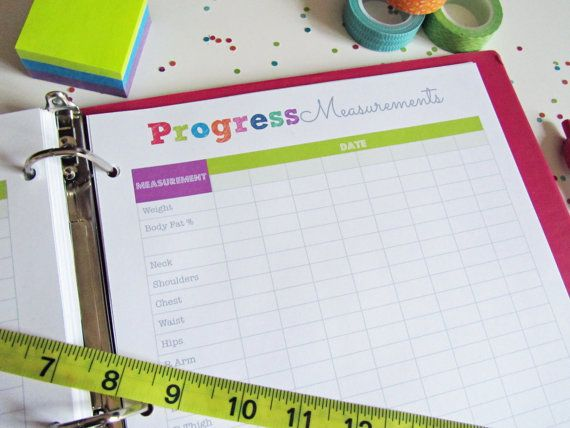 30% OFF Printable Progress Chart Pdf Printable by CleanLifeandHome