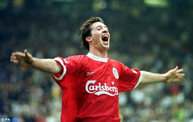 Liverpool legend Robbie Fowler scored 128 times in the league during his time on Merseyside