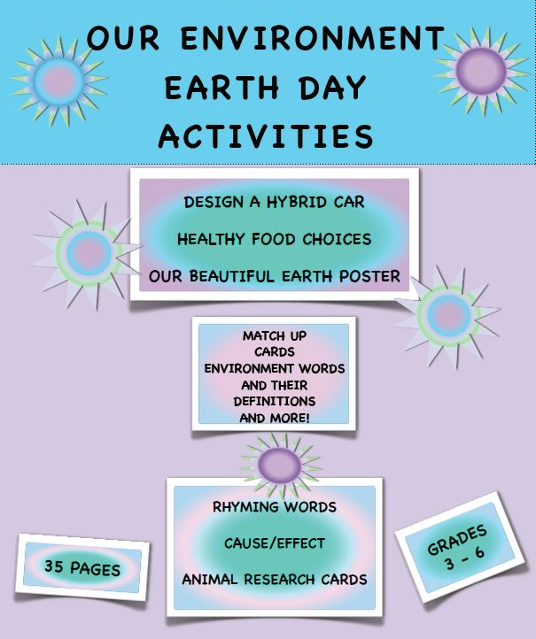 "FREE SCIENCE LESSON - ""Our Environment Earth Day Activities FREE"" - Go to The Best of Teacher Entrepreneurs for this and hundreds of free lessons.   3rd - 6th Grade   #FreeLesson  #Science  #EarthDay   http://www.thebestofteacherentrepreneurs.net/2014/04/free-science-lesson-our-environment.html"