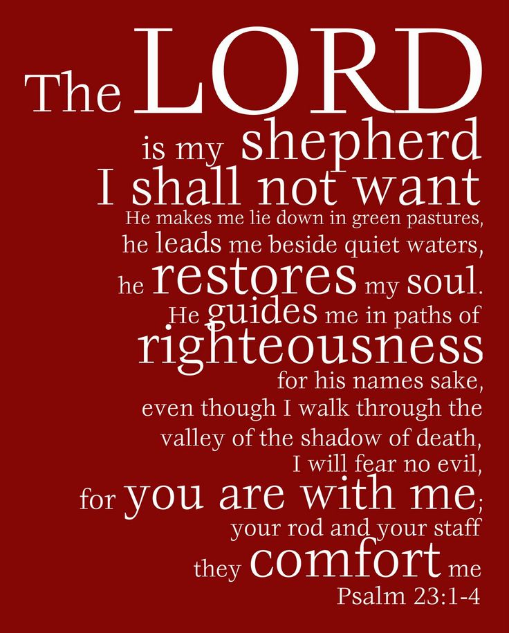Your Rod And Staff They Comfort Me Psalm 23 Scripture Pinterest Psalm 23 And Psalms
