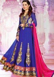 Celina Jaitley In Rajwadi Anarkali Suit