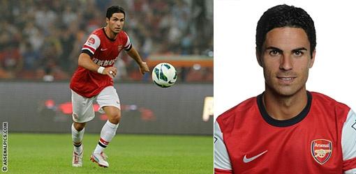 8. Mikel Arteta | Players | First Team | Arsenal.com