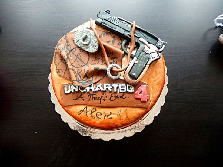 Uncharted 4 Austin S Cakes Pinterest