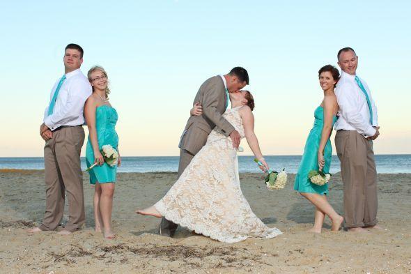 Dressing the men.... HELP!! :  wedding casual groom wedding attire Brit And Dale 129