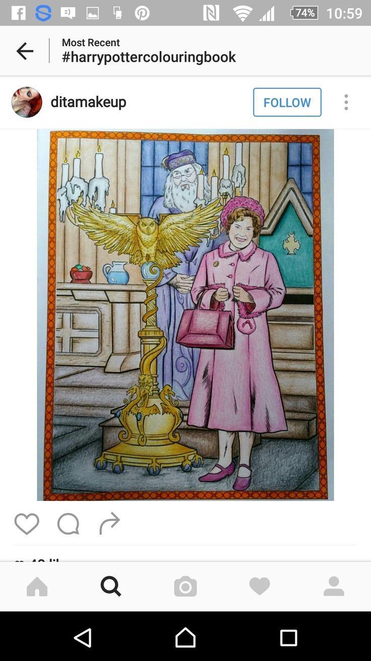 119 best Harry Potter Coloring