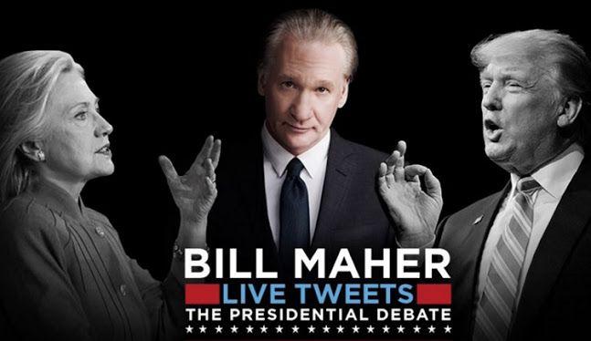 Bill Maher ROCKS Twitter After The Presidential Debate (TWEETS/VIDEO)