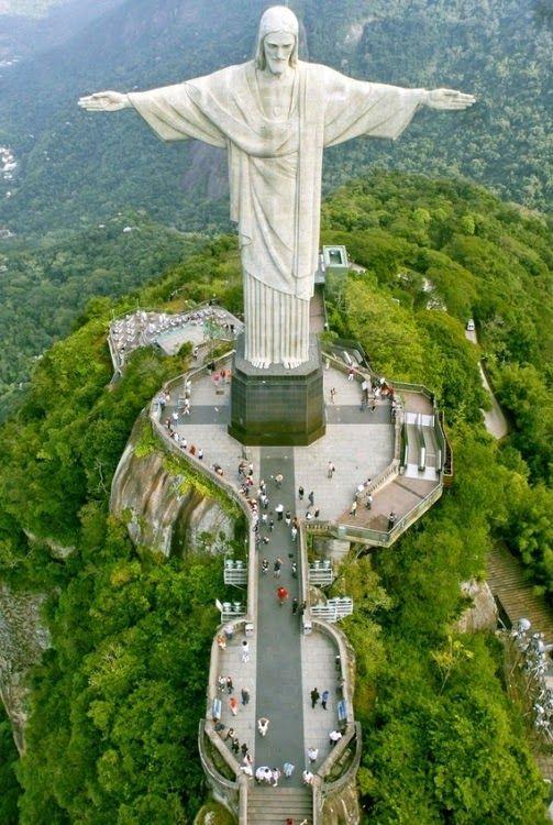 #travelcolorfully rio de janeiro's christ redeemer