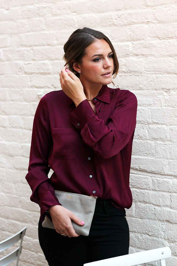 Burgundy Outfit Autumn Fashion 2016 | Monica Beatrice Welburn | The Elgin Avenue Blog