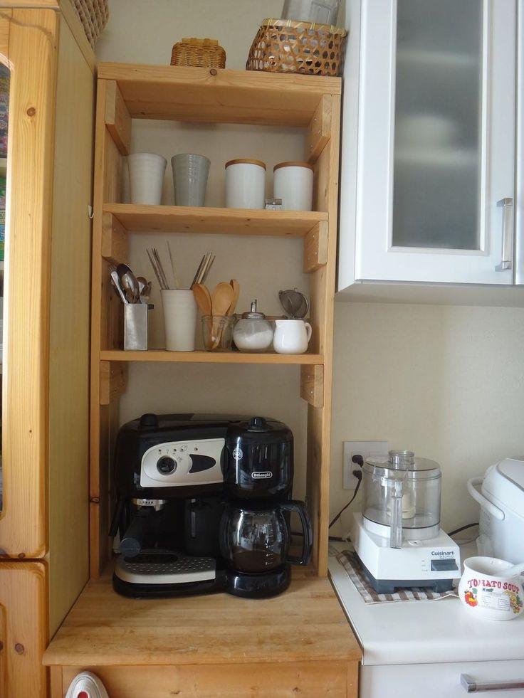DIY】SPF1×4材で作る、キッチン棚 : 道産子サラリーマンの ...