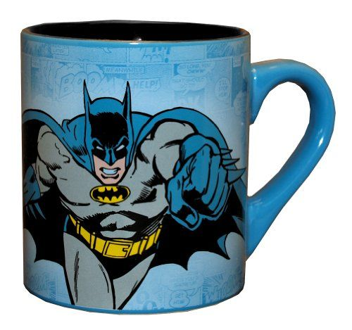($7.99) Batman DC Comics Comic Panel Superhero Ceramic Coffee Mug From Silver Buffalo