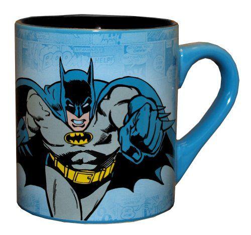 ($7.99) Batman DC Comics Comic Panel Superhero Ceramic Coffee Mug From Silver Buffalo