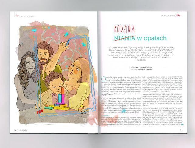 urbaniak katarzyna ilustracja gaga magazyn niania listopad 2015