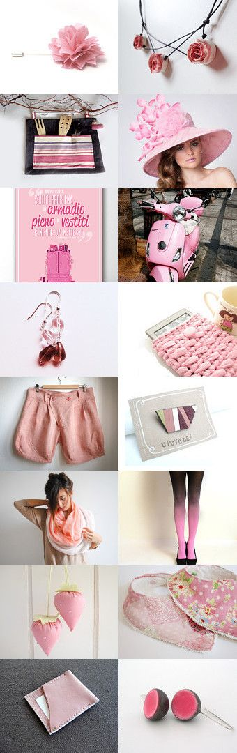 Pink is this winter's trend by Patrizia Jaus on Etsy--Pinned with TreasuryPin.com