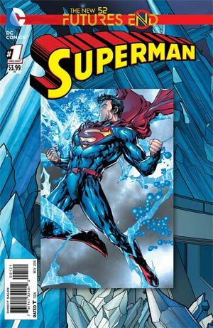#Superman #FuturesEnd #1 Cover A 3D Motion Cover - Midtown Comics