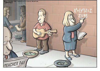 Teacher salary math diatribe