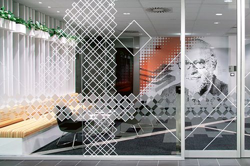 Workplace graphic solutions - http://vinylimpression.co.uk/pages/case-studies