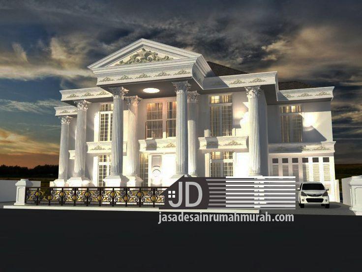 Jasa Desain Rumah Eropa Klasik Bapak Hamdani Yuafi di Jakarta, klien sudah dalam tahap membangun rumah sehingga klien hanya memesan paket hemat yaitu desain 3D + denah, untuk mendapatkan desain tampak depan yang menarik, dengan request eropa klasik style berikut adalah hasil desain 3D yang kami kirim : Untuk melihat denah lantai 1 klik disini …