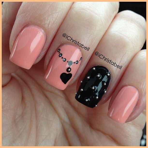 nail art CUTE!!!!