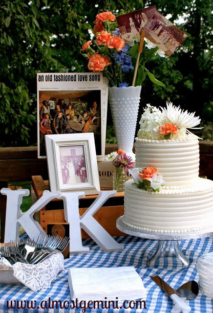 17 best ideas about 40th anniversary cakes on pinterest for 40th anniversary decoration ideas