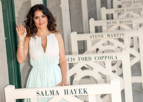 Su marido y su hija, los mayores fans de Salma Hayek - Foto 1