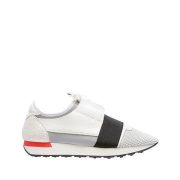 "Balenciaga Runners ""Race""    Blanc   Chaussure Race pour Homme"