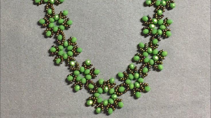 Snowflake Necklace, Kar tanesi kolye yapımı