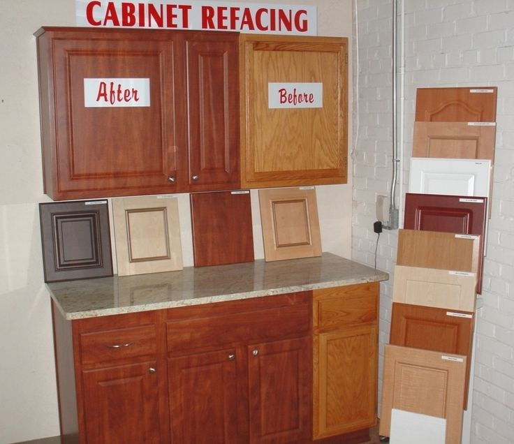 17 best ideas about cabinet refacing cost on pinterest for Cabinet door refacing cost