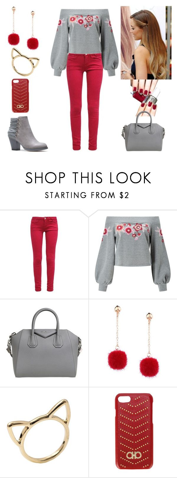 """""""Beautiful"""" by paoladouka on Polyvore featuring Essie, Miss Selfridge, Givenchy and Salvatore Ferragamo"""
