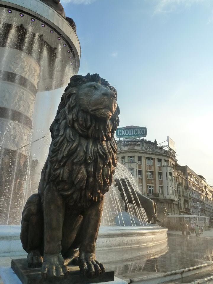 Skopje, Macedonia's capital