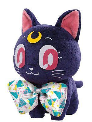 Banpresto Ichiban Kuji Sailor Moon Prize C - Luna Stuffed Toy [Galaxxxy]