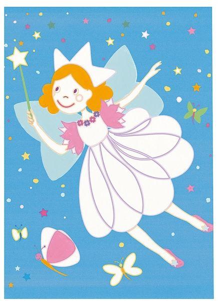 Art by numbers. Ecco uno degli sfondi illustrati da Monica San Cristobal per il gioco creativo Principessa in Rosa di Djeco. Il gioco da colorare con le tempere è acquistabile sul nostro negozio online alla pagina http://www.giochiecologici.it/p/109/principessa-in-rosa